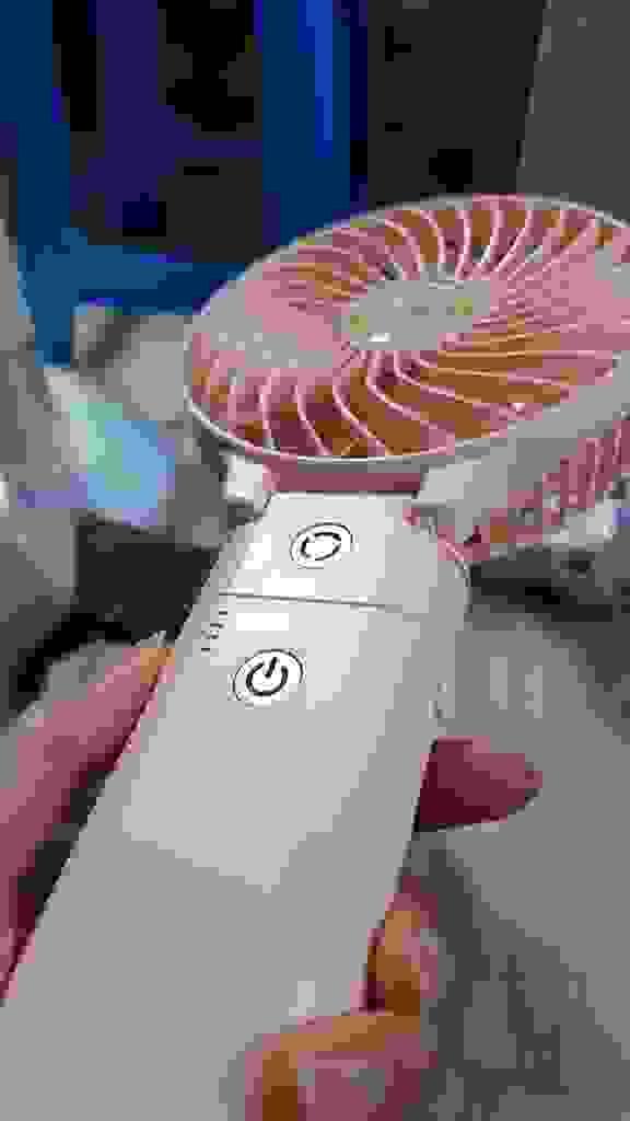 엑타코 대용량 보조 배터리 휴대용 선풍기충전 크래들  리뷰 후기