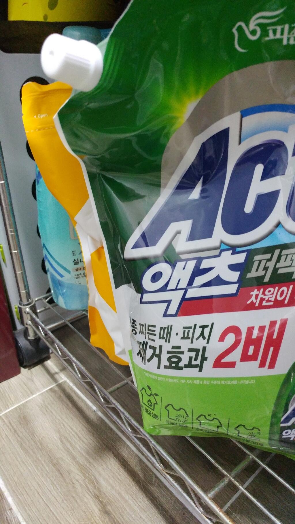 액츠 퍼펙트 안티박 액상세제 리필  리뷰 후기