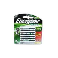 에너자이저 충전지 4알, AA, 4개입