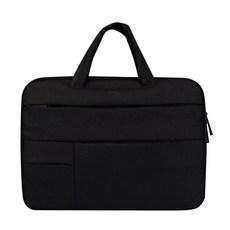 플럭스 핸디 포켓 노트북 가방 파우치 딥 블랙
