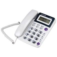 태경IDS 발신자표시 유선전화기 TKT-500, 발신자표시 유선전화기 TKT-500 화이트