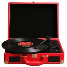 로우락 턴테이블 LP 플레이어 RLP-04, RLP-04(RED)
