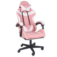 알파카 일반형 게이밍 의자, 핑크
