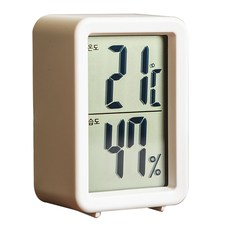오리엔트 타이니 디지털 온습도계 OT1585 화이트, 1개