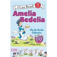 Amelia Bedelia I Can Read Box Set #1: Amelia Bedelia Hit the Books Boxed Set