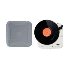 사운드룩 휴대용 보헤미안 LP 턴테이블, SLT-200BT(그레이)