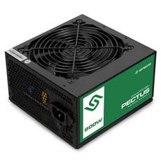 수트마스터 PECTUS 600W Active PFC 85+ 파워 서플라이, Black