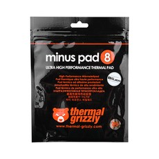 ThermalGrizzly minus pad8 CPU쿨러 100 x 100 x 1 mm