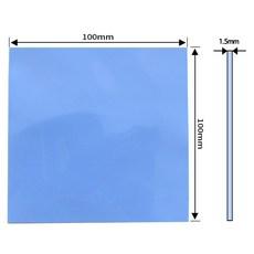 쿨러 써멀패드 Thermal Pad 쿨링 방열 열전도패드 100 x 1.5mm