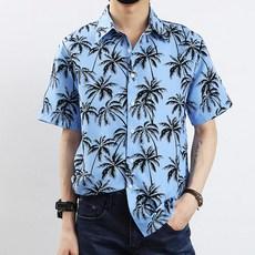 하와이안 알로하 허니문 반팔 셔츠 남방 HW-0384