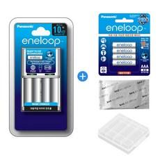 에네루프 BQ-CC51 충전기 + 에네루프 AA AAA 충전지 세트 사은품증정, 에네루프 CC51충전기+AAA 4알(작은거)+사은품