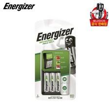 에너자이저 맥시 충전기 + 충전지 AA 4p, 1세트