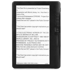 e북리더기 ebook 이북리더기 전자책 4GB, Black, 0