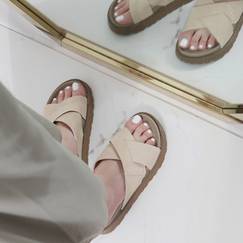 말랑말랑 키높이 여성 패션 슬리퍼 CC302