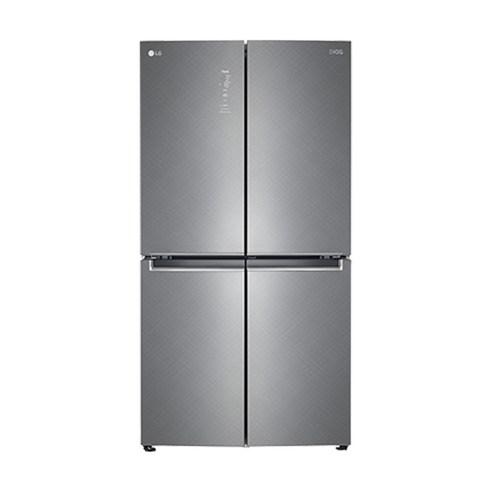 LG전자 디오스 매직스페이스 4도어 냉장고 F873SN35 870L 방문설치