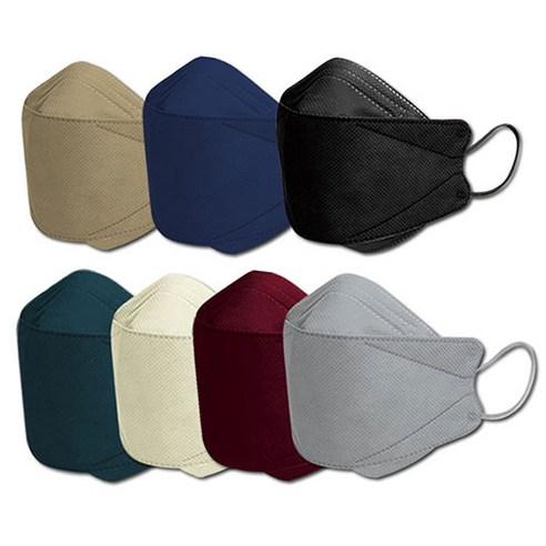 뉴크린웰 KF94 국산 컬러 마스크 대형 1박스 30매 50매 100매 개별포장 방역 공적 귀안아픈